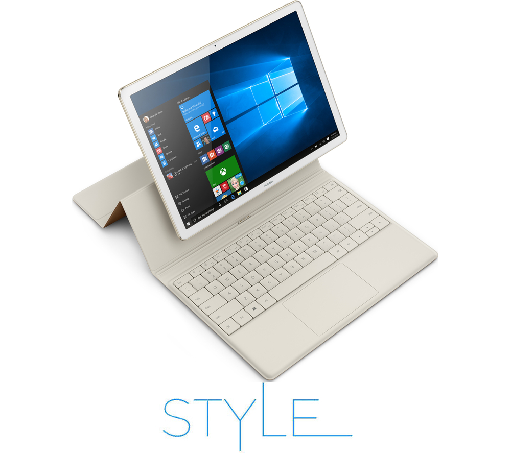 huawei matebook 12 2 in 1 white champagne gold. Black Bedroom Furniture Sets. Home Design Ideas