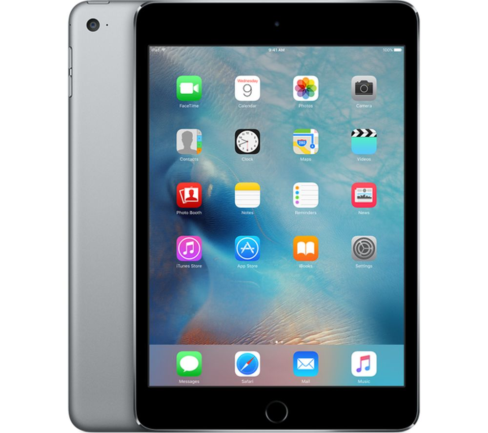 apple ipad mini 4 cellular � 128 gb space grey grey