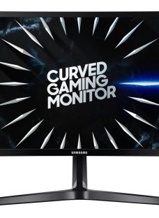 """SAMSUNG LC24RG50FQUXEN Full HD 24"""" Curved LED Monitor - Black"""