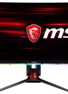 "MSI Optix MPG27CQ2 Quad HD 27"" Curved LED Gaming Monitor - Black"