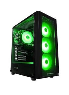 Pc Specialist Cypher Gx Geforce Rtx 2060 Intel Core I5 16Gb Ram 512Gb Ssd &Amp; 1Tb Hdd Gaming Pc