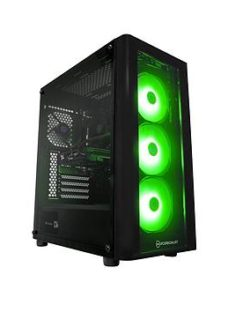 Pc Specialist Fusion Gs Geforce Gtx 1660 Super Amd Ryzen 5 8Gb Ram 256Gb Ssd &Amp; 1Tb Hdd Gaming Pc