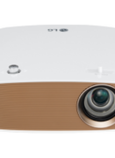 LG CineBeam PH550G Projector 1280x720 - White / Gold