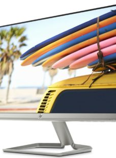 """HP 24fw with Audio Full HD 24"""" IPS LCD Monitor - White"""