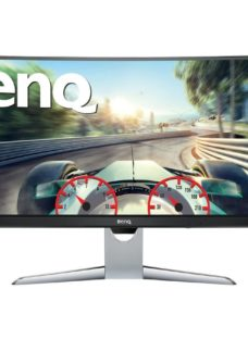 "BENQ EX3501R Quad HD 35"" Curved VA Gaming Monitor - Grey"