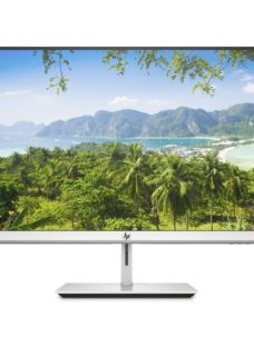 "HP U27 Wireless 4K Ultra HD 27"" IPS LCD Monitor - Black & Silver"
