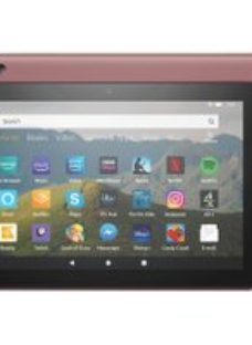 "Amazon Fire HD 8"" 64GB Wifi Tablet - Plum"