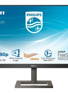 "PHILIPS 242E1GAEZ Full HD 23.8"" LCD Monitor - Black"