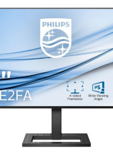 "PHILIPS 242E2FA Full HD 24"" LCD Monitor - Black"