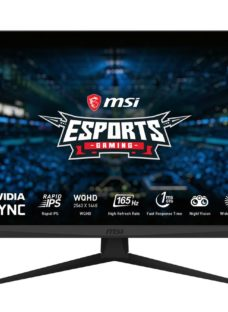 "MSI Optix G273QF Quad HD 27"" IPS LCD Gaming Monitor - Black"