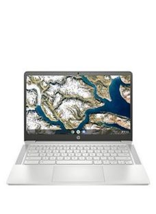 Hp Chromebook 14A-Nd0002Na Amd Athlon 4Gb Ram 64Gb Storage 14In Hd Laptop + Optional Microsoft 365 Family (15 Months) - Laptop Only